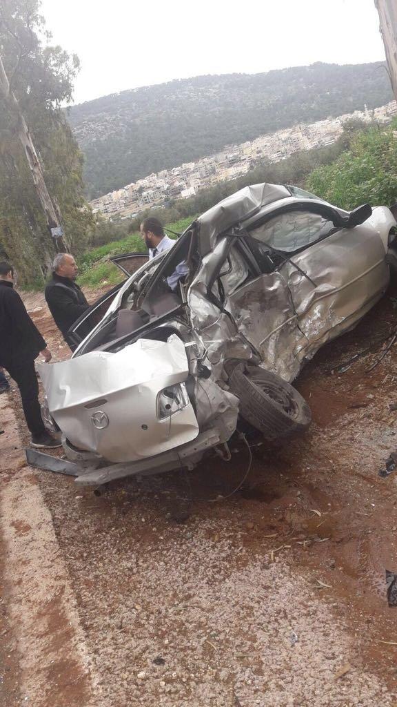 مرام مرعي عكر - أبو النعاج من دبورية، ضحية حادث الطرق اليوم!