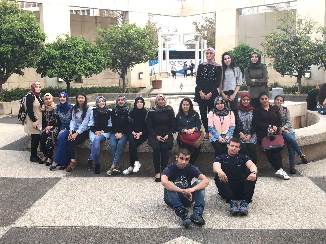ثانوية كفرقاسم الجديدة في جامعة تل ابيب