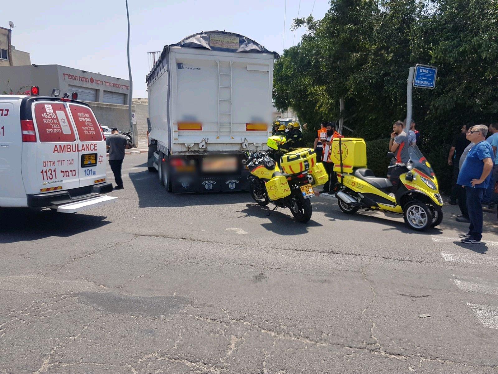 مصرع الشاب محمد نعراني من ابطن بحادث دراجة نارية في حيفا
