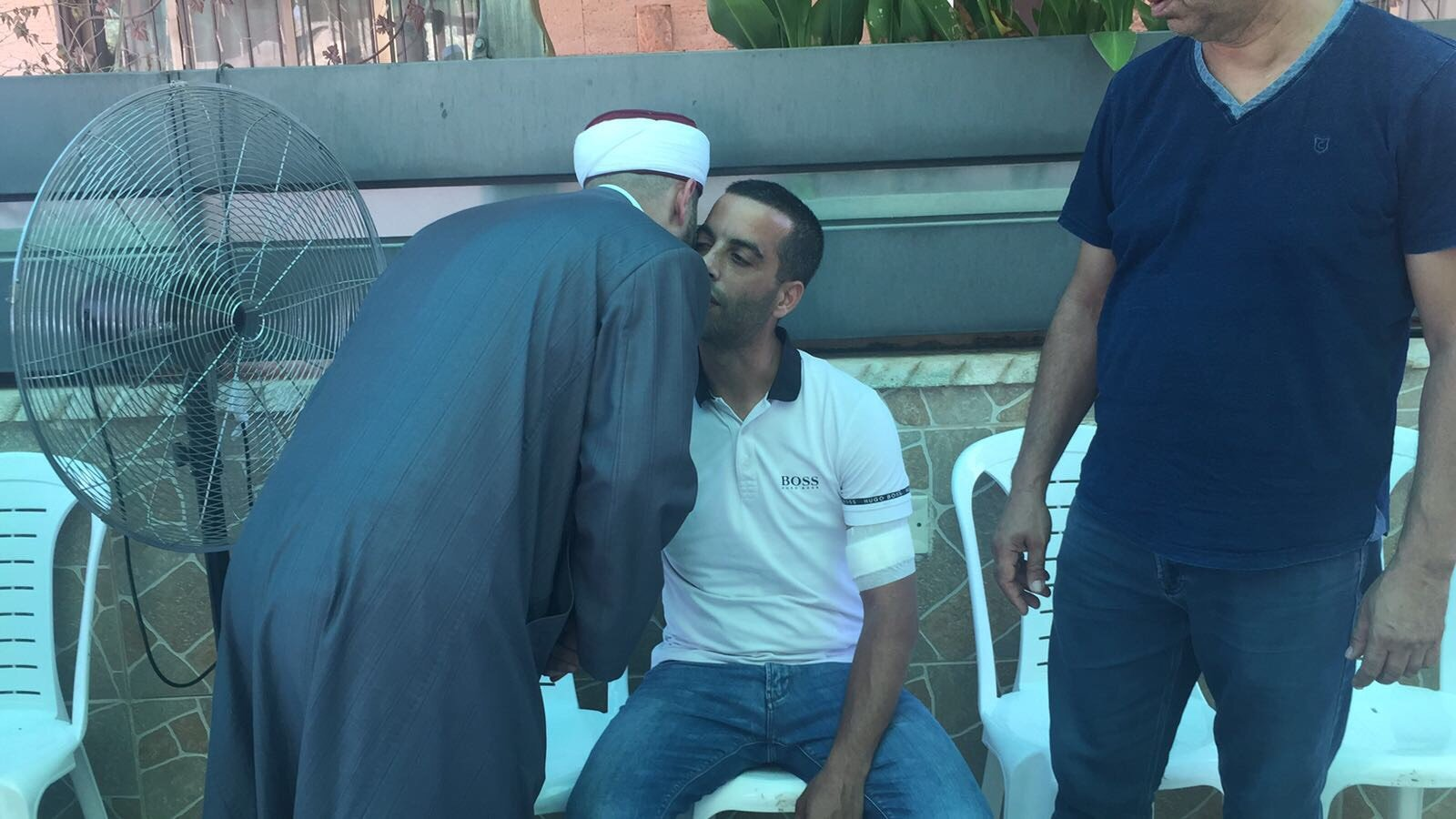 وفود فحماوية لتعزية اهالي الطيبة بمصابهم.. وبيان لاهالي مصمص