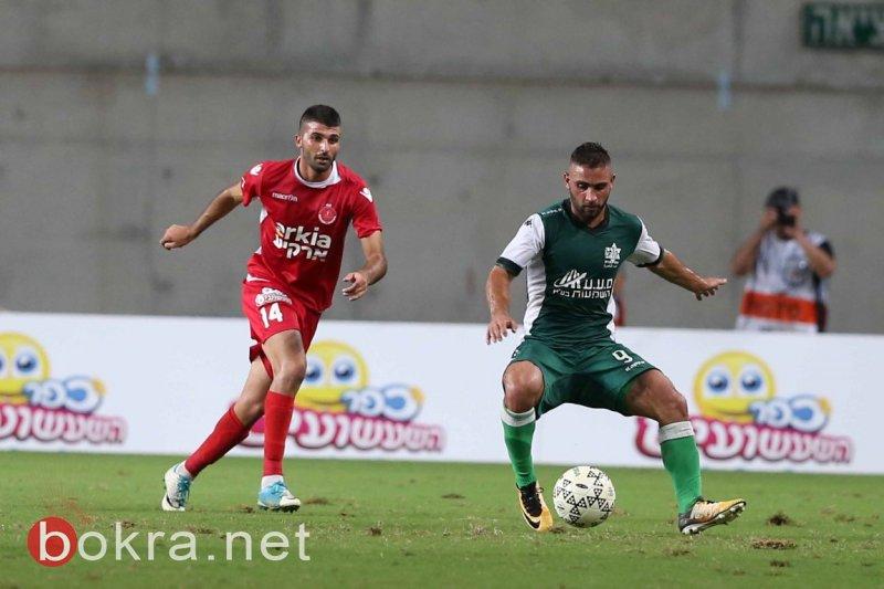 الاخاء النصراوي يثبت بانه فريق قمة بفوزه على هـ تل ابيب (2-0)