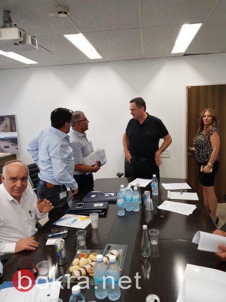 زعبي يجتمع بوزير المواصلات والمصادقة على شق المدخل الجديد لسولم بميزانية قيمتها 25 مليون .. ومشاريع أخرى