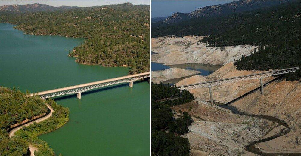 صورٌ مثيرة.. شاهدوا كم تغيّر الكوكب بسبب الجفاف!