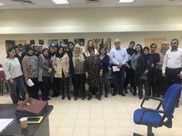 فعاليات ومحاضرات حول آفة العنف لمساعدات ومعلمات الاطفال