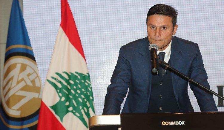 """""""اكاديمية أنتر ميلان"""" اطلقت مشروعها في لبنان بحضور """"الاسطورة"""" زانيتي"""