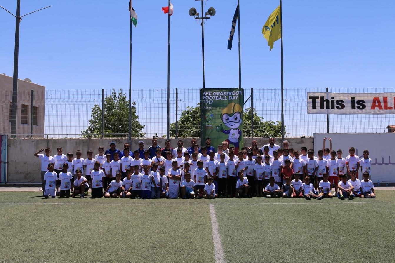 اتحاد كرة القدم الفلسطيني ينظم مهرجان