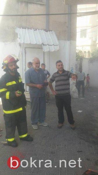 حريق ثالث خلال فترة وجيزة بمبنى بلدية ام الفحم القديم... لماذا تُحرق البلديّة؟