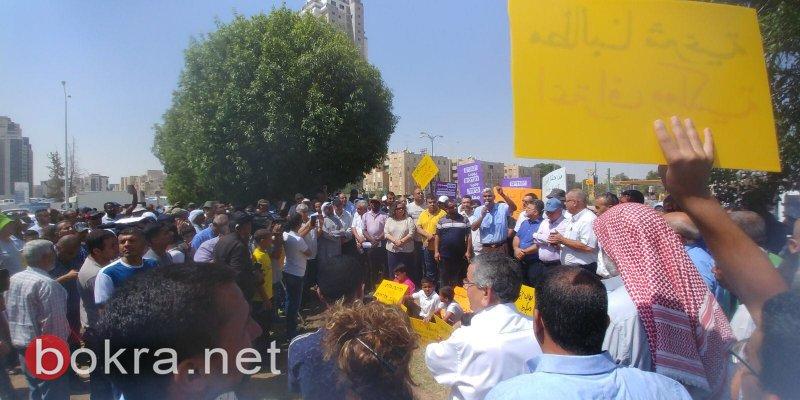 النقب: انطلاق مظاهرة العزة والكرامة في بئر السبع