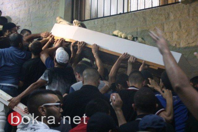 بالفيديو والصور، التوقيت لم يمنع الآلاف من المشاركة بالجنازة في أم الفحم