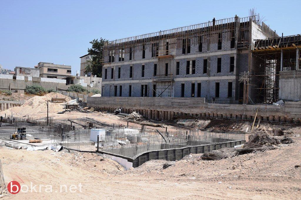 بلدية الناصرة: أشهر قليلة تفصلنا عن افتتاح المبنى الجديد بتصميمه الحديث .. صور