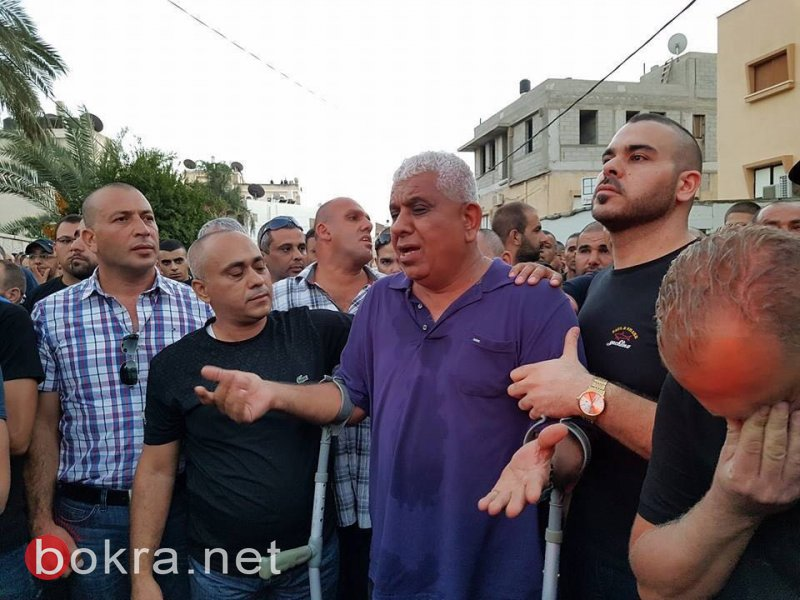 الحزن يخيم على مدينة الطيبة التي ودعت المأسوف على شبابه نزيه مصاروة