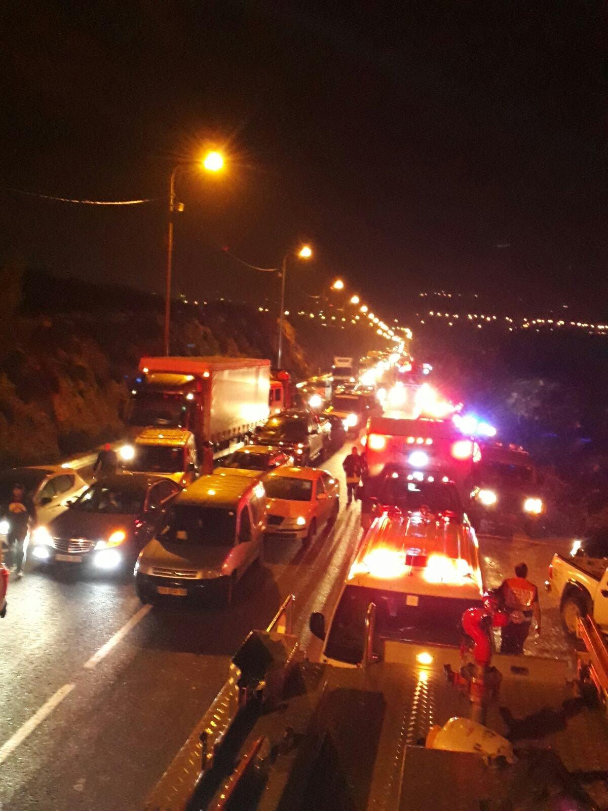 مصرع فلسطيني وإصابة آخر بحادث مرّوع قرب سلواد