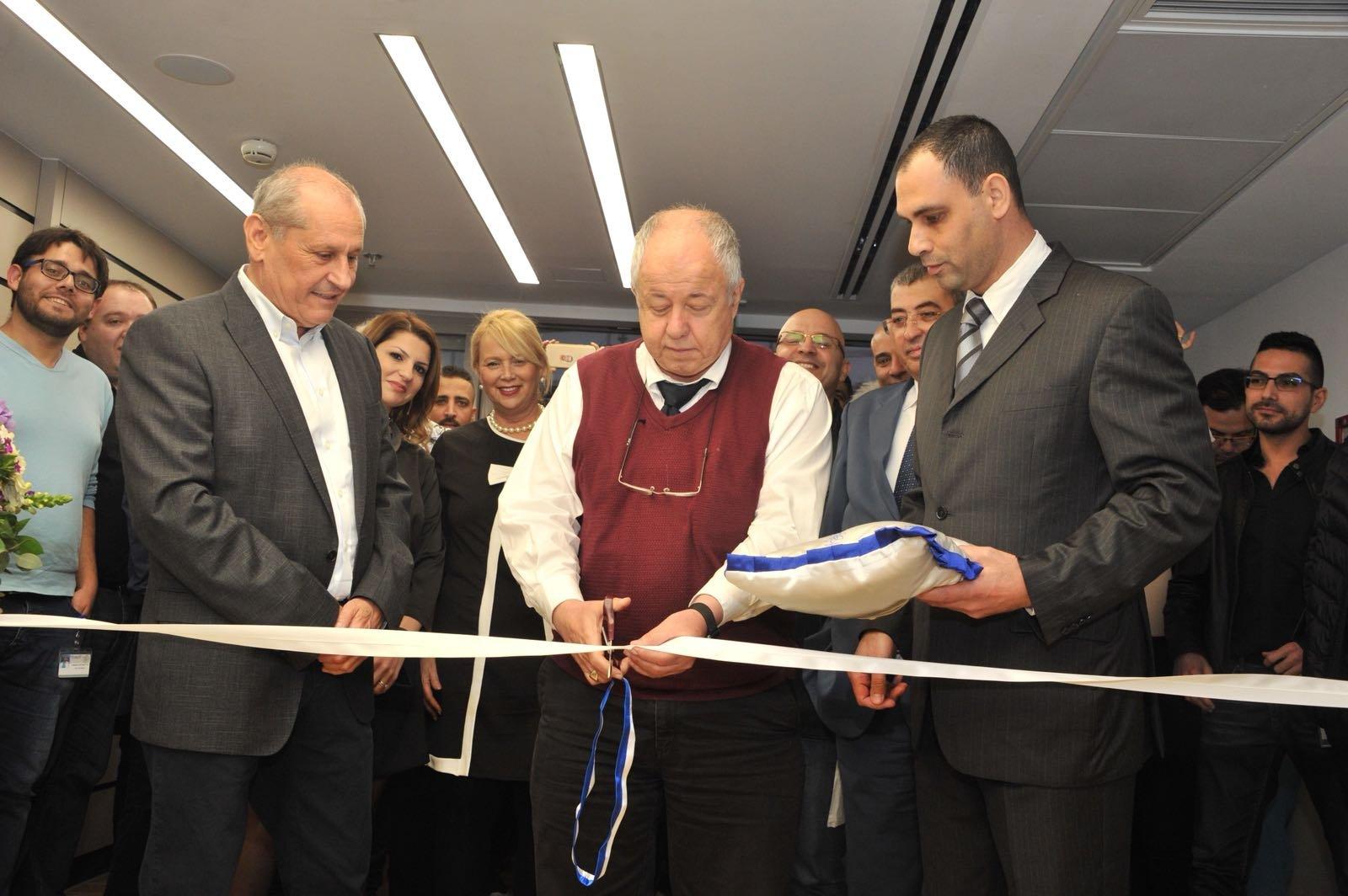 افتتاح مركز علاج الفم والفكين الاحدث والاكثر تطورا في المركز الطبي للجليل في نهاريا