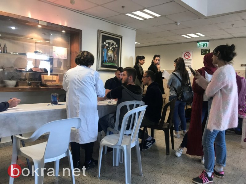 اليوم في الناصرة: حملة للتبرع بالدم لد. نصير وللشاب هاني حكيم وبفحص اللعاب لإنقاذ الطفل يوسف