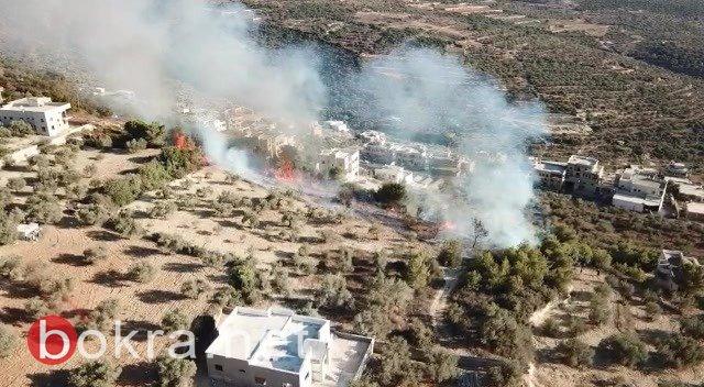يركا -السيطرة على حريق ألحق اضرارا مادية دون وقوع اصابات بشرية