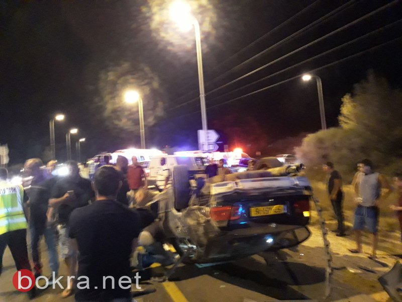 اصابتان في حادث طرق بين عرابة ودير حنا