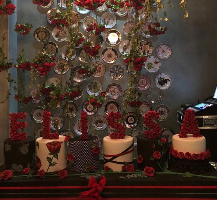 رقص إليسا في عيد ميلادها على غناء عاصي الحلاني بحضور حبيبها نجيب خضر