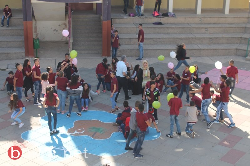 سخنين: اعدادية الحلان تختتم اسبوع لا للعنف بعنوان : لا مكان للعنف في مدرستنا