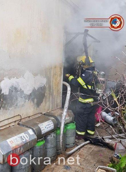 حيفا: حريق في شقة والعثور على جثة امرأة
