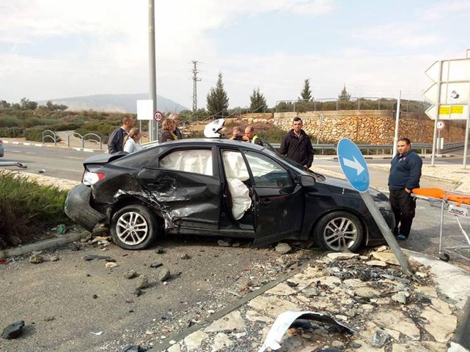 انقلاب مركبة قرب هموفيل، حادث قرب جولاني وسقوط شخص عن جسر في حيفا
