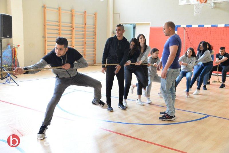 فعاليات رياضية ممتعة في مدرسة أورط على أسم حلمي الشافعي عكا