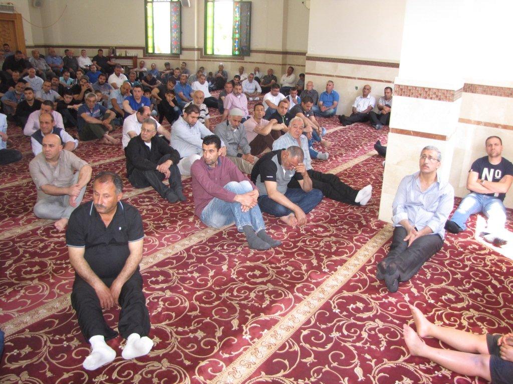 فضائل شهر شعبان في خطبة الجمعة بجامع عمر المختار يافة الناصرة