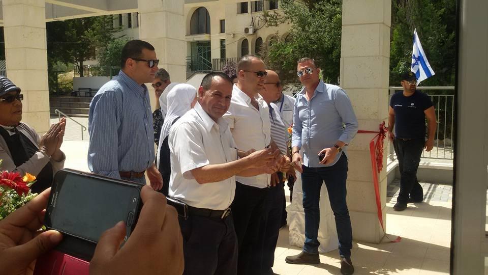 بأجواء احتفالية، افتتاح المبنى الجديد لثانوية الشبلي أم الغنم