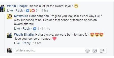 هكذا علّق صديق إليسا على نيله جائزة