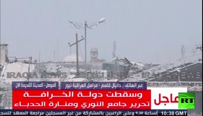 داعش ينهار في الموصل، والعراق يعلن: سقطت دولة الخلافة