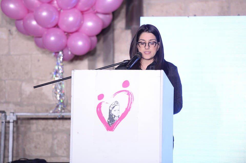 مريم تتألق في يافا عروس البحر بمشروعها السنوي أكتوبر زهر للتوعية بسرطان الثدي