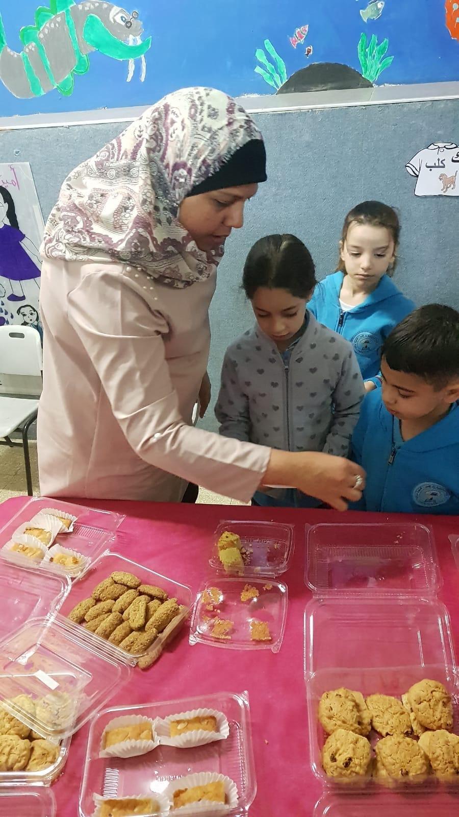 يوم العطاء  في المدرسة الجماهيرية بير الامير