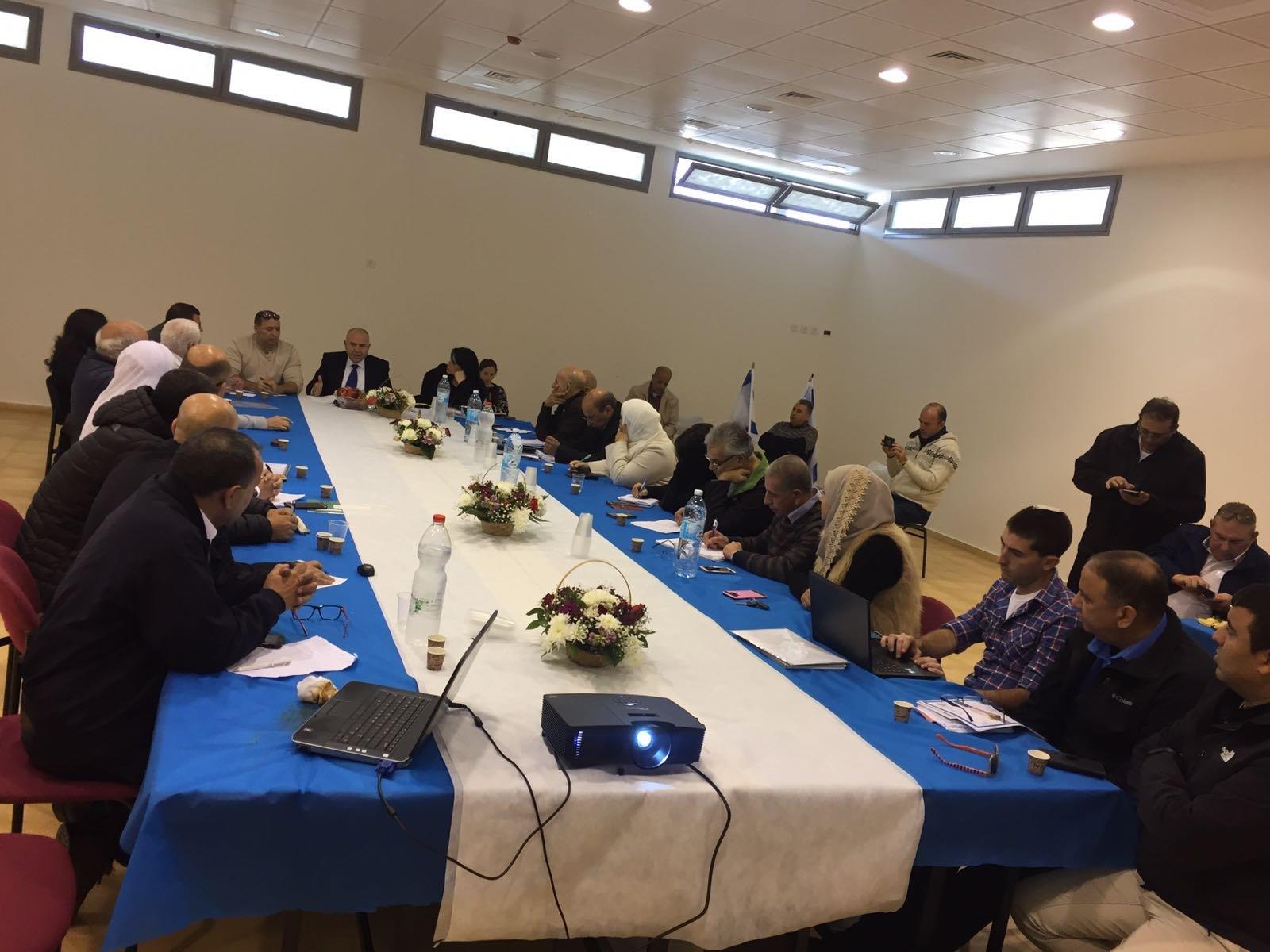 الشبلي أم الغنم: إدارة المجلس تستقبل مدير عام وزارة المعارف لبحث آخر التطورات