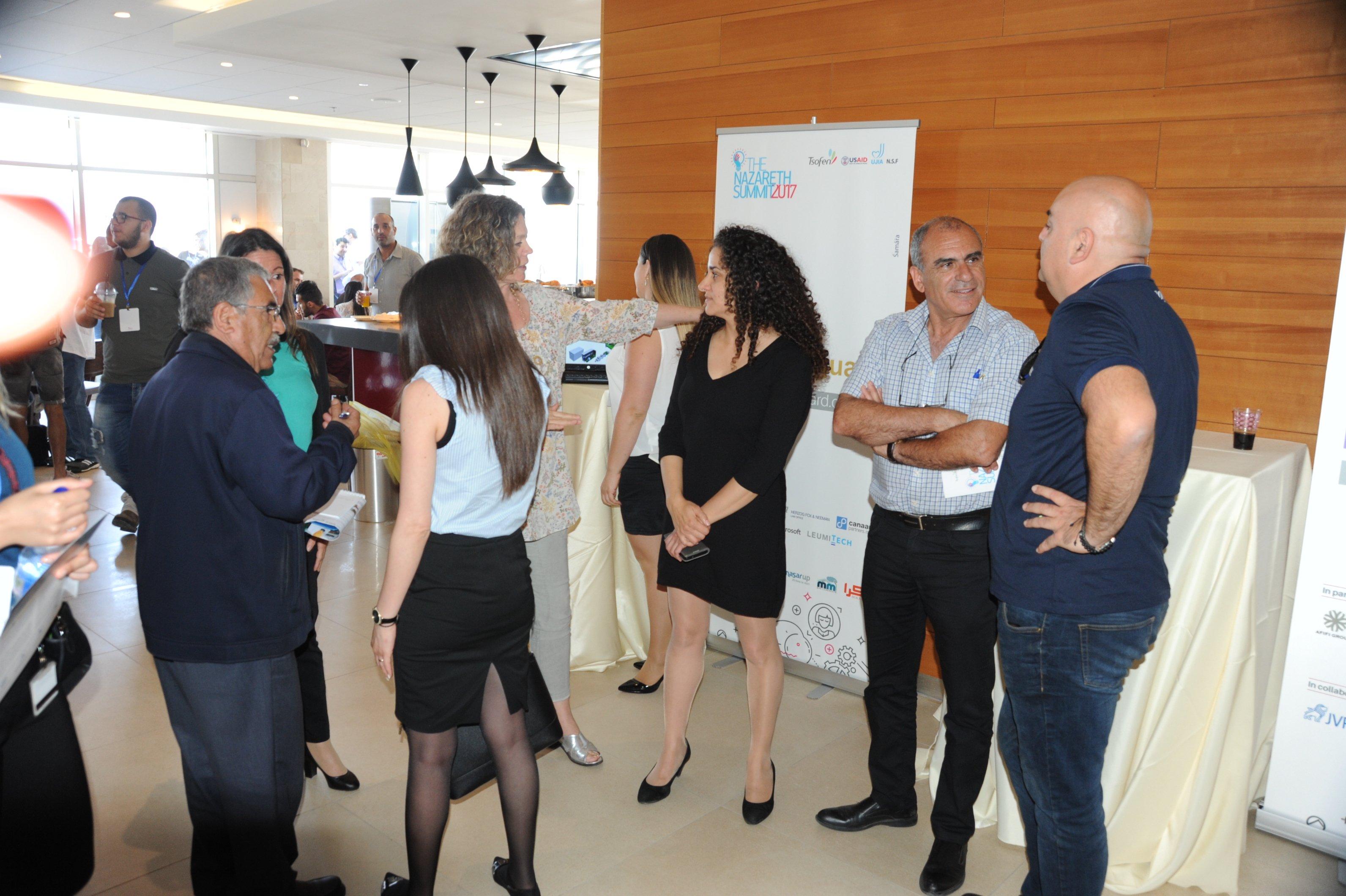 مُستثمرون بارزون يلتقون مع مُبادرين عرب في الناصرة بتنظيم مؤسسة تسوفن