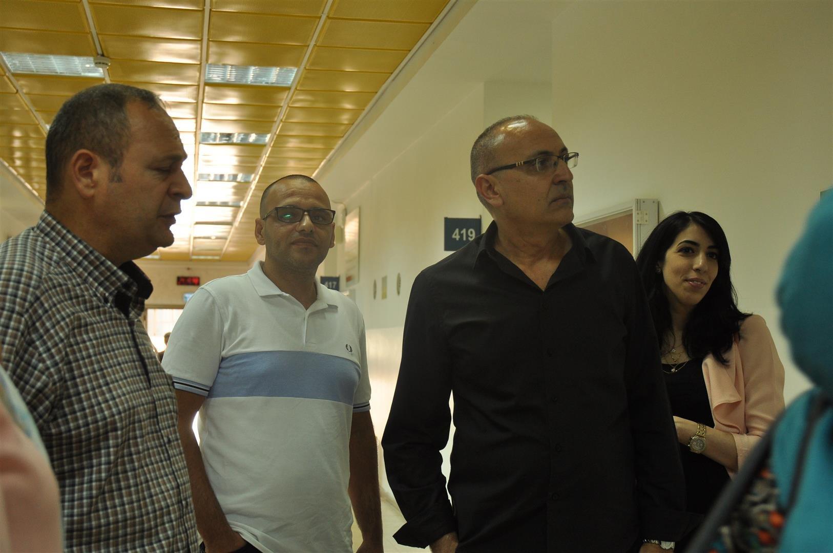 زيارة وفد من كليّة لينكس لأكاديمية القاسمي