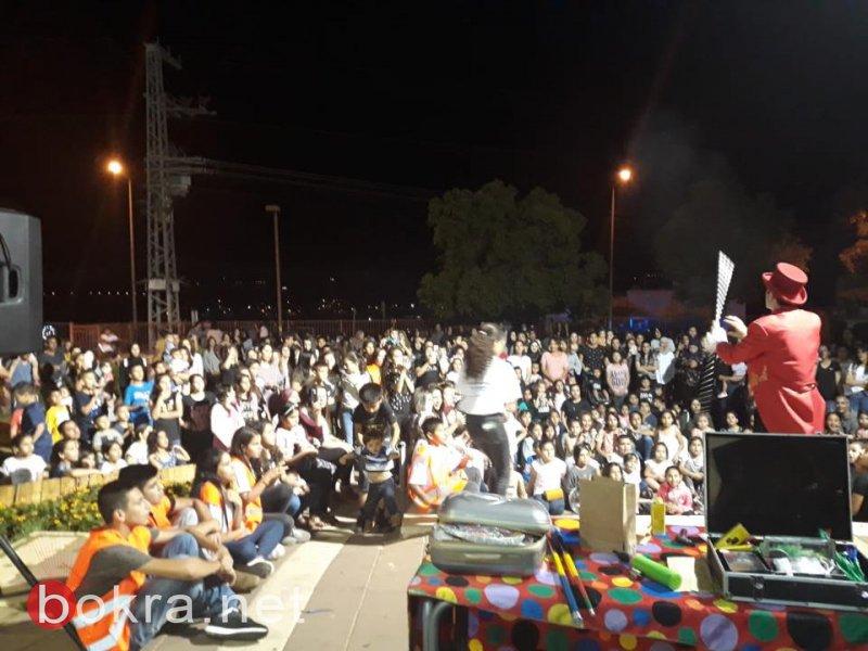 مسيرة رمضانية مميزة في الشبلي أم الغنم
