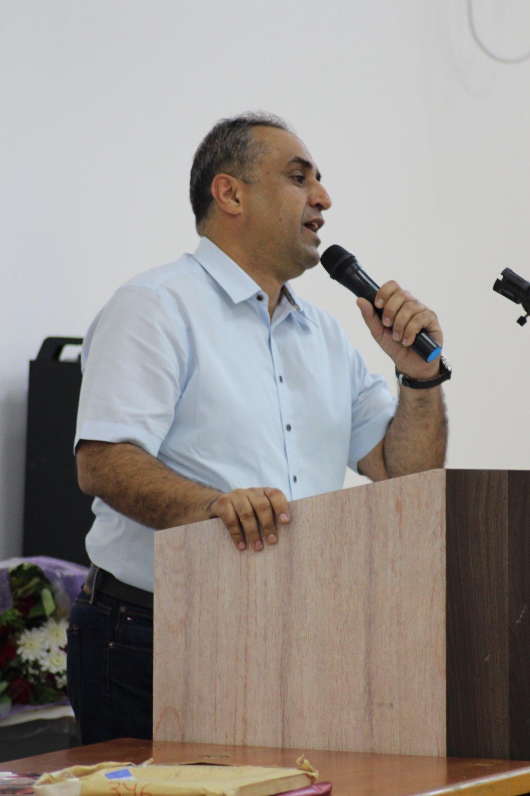 تكريم القائد والنقابي الشيوعي والجبهوي جهاد عقل في مهرجان مهيب وحاشد