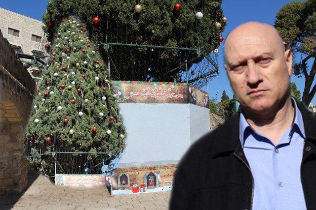الناصرة تستعد لإضاءة شجرة الميلاد للكاثوليك يوم الأحد