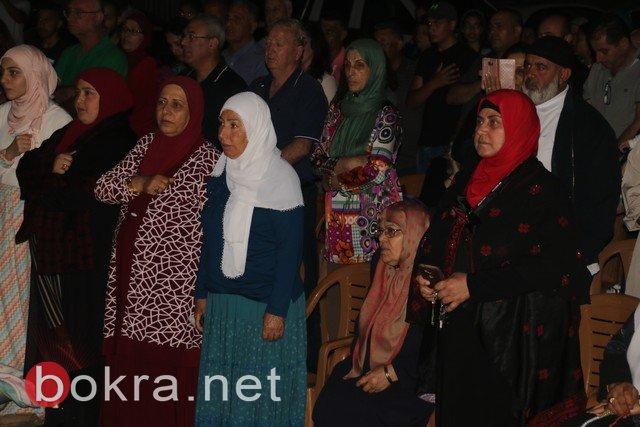 المئات في مهرجان انتصار الأسرى ببلدة عارة في المثلث