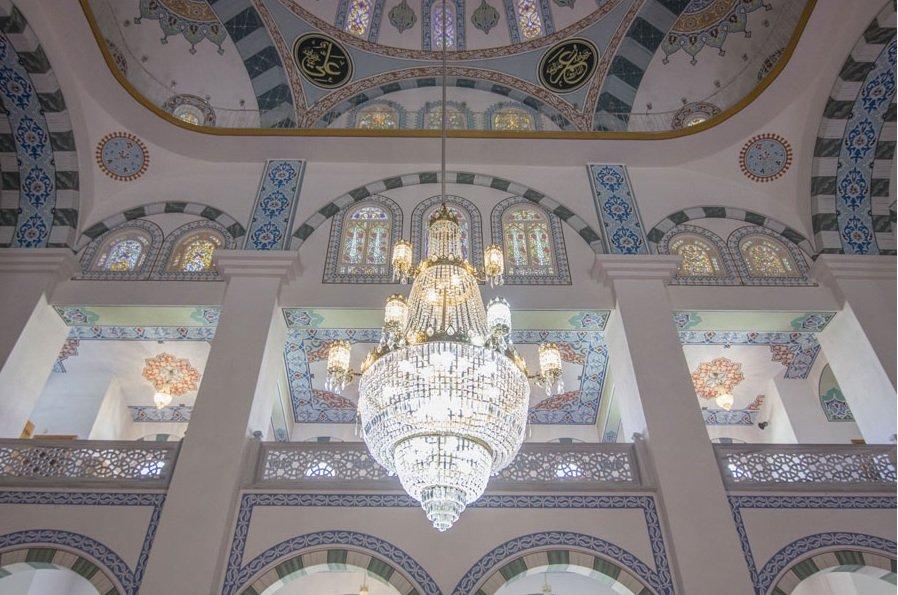مسجد حميدية التركي روووووعة وجمال 1745594518