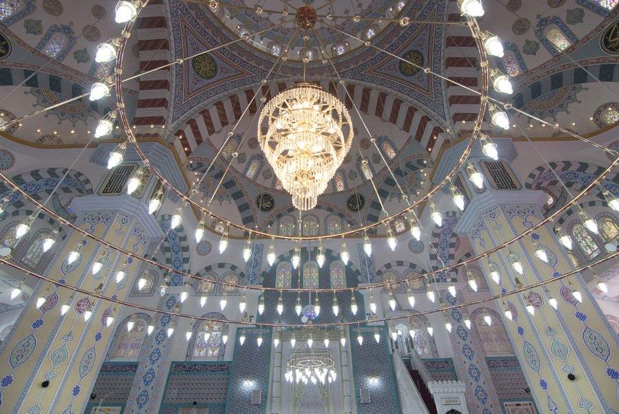 مسجد حميدية التركي روووووعة وجمال 1909482880