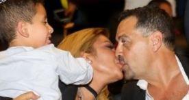 بعد قبلتها الحميمية.. أصالة تتغزل بزوجها