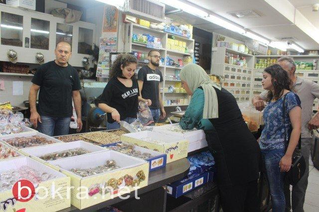 حركة تجارية نشطة في الناصرة عشية الأضحى المبارك