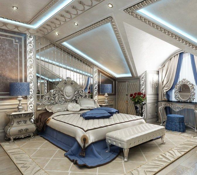 موقع بكرا | ديكورات غرف نوم كلاسيك للعرسان