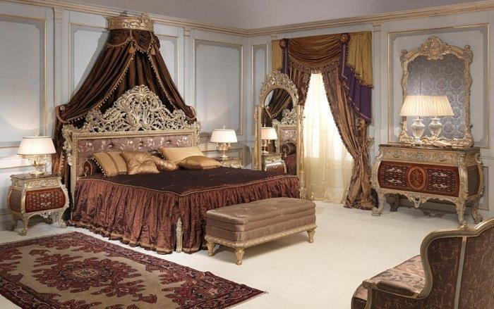ديكورات غرف نوم كلاسيك للعرسان