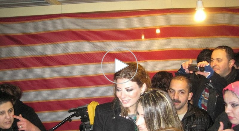 النجمة التونسية بهاء الكافى تحيى حفل رأس السنة الجديدة فى كردستان