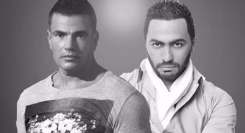 معركة بين فانز عمرو دياب وتامر حسني ماذا أشعلها؟