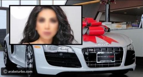 فنانة لبنانية تحصل على سيارة هدية في