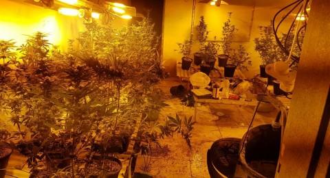 باقة الغربية: ضبط معمل مخدرات داخل منزل مشتبه