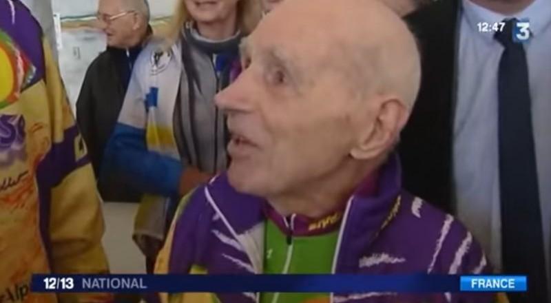 بطل في رياضة الدرّاجات عمره 104 أعوام!