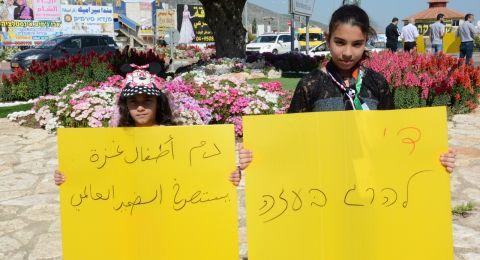 جبهة كفرمندا تتضامن مع غزة